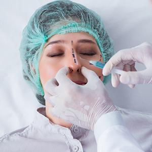 שיפור מראה האף בחומצה היאלורונית