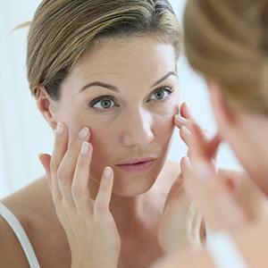 על הסימנים המוקדמים להזדקנות הפנים